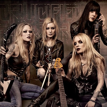 Crucified Barbara - Discography (2005 - 2014)