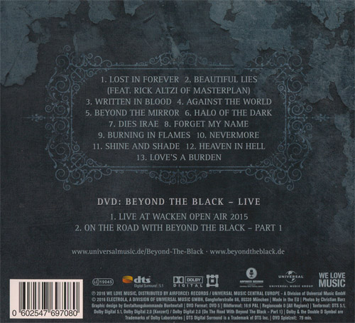 Beyond The Black - Lost in Forever (Deluxe Edition) (2016)