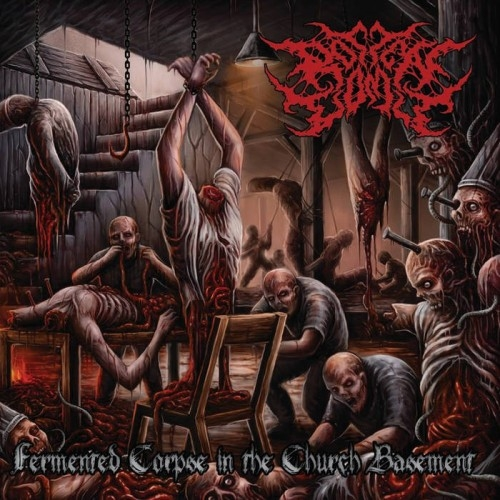 Rotten Vomit - Fermented Corpse In The Church Basement (2015)