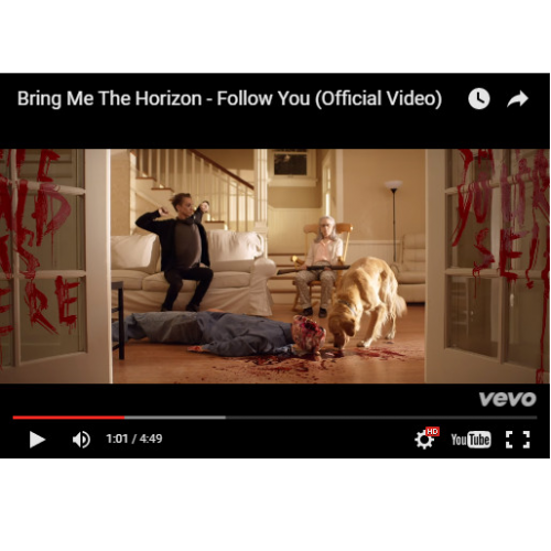 Bring Me the Horizon - Follow You (VIDEO)