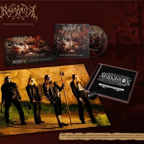 Ragnarok - Psychopathology 1994-2016: Collection Of The History (Limited Edition, 666 Copies) (2016)