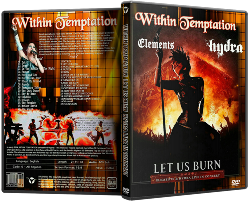 Within Temptation - Let Us Burn - Elements & Hydra Live in Concert (2014)