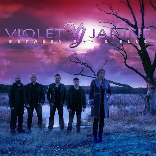 Violet Janine - Between Red And Blue (2016)