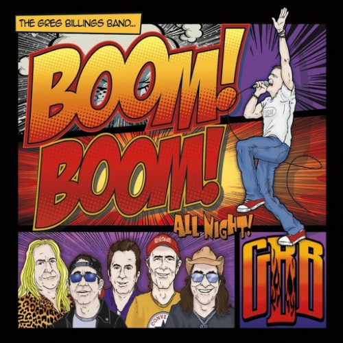 Greg Billings Band - Boom Boom All Night! (2016)
