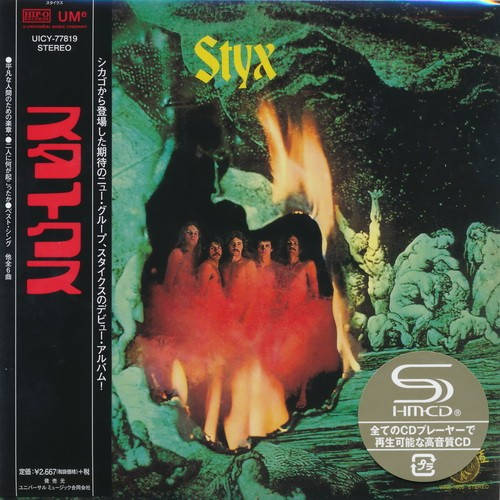 Styx - Styx [Japan Mini LP SHM-CD] (2016)