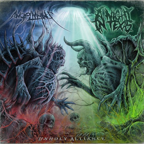 AngelMaker & A Night In Texas - Unholy Alliance [Split] (2016)