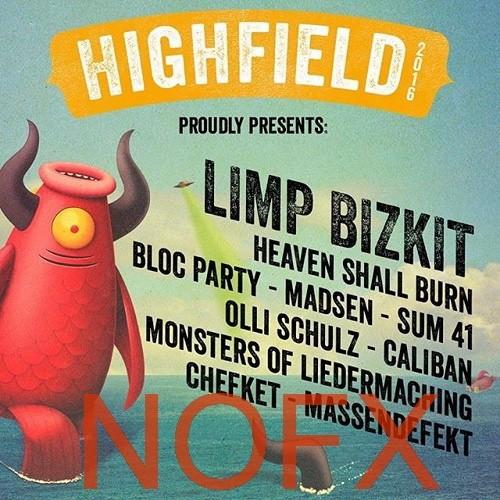 NOFX - Highfield Festival (2016)