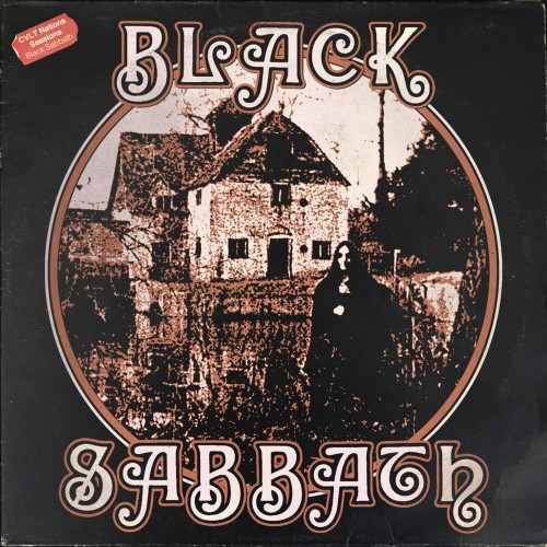 Various Artists - Black Sabbath 'S/T' : The CVLT Nation Sessions (2017)