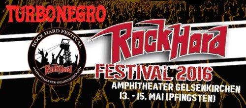 Turbonegro - Rock Hard Festival (2016)