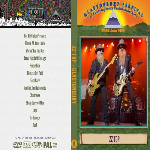ZZ Top - Glastonbury Festival (2016)
