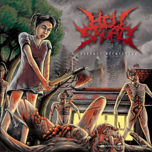 Hell Skuad - Hideous Opposition [EP] (2016)