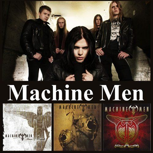 Machine Men - Collection (2003-2007)