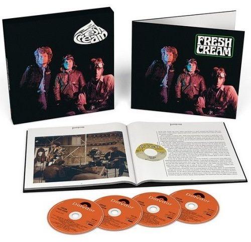 Cream - Fresh Cream (3CD Box Set) (2017)