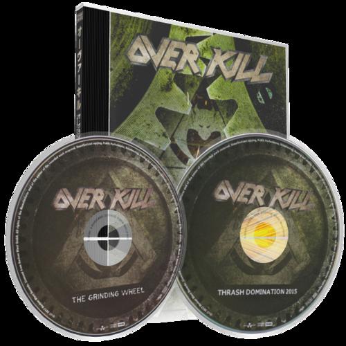 Overkill - The Grinding Wheel (2017) (DVDRip)
