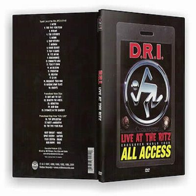D.R.I. - Live At The Ritz (All Access) (2001) (DVDRip)