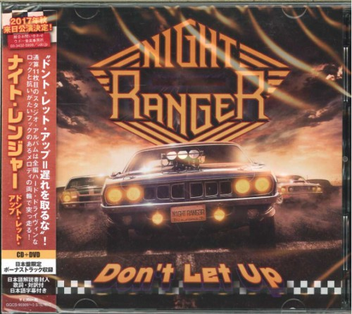 Night Ranger - Don't Let Up (Japanese Edition) (2017)