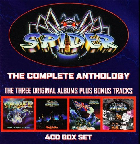 Spider - The Complete Anthology (2012)
