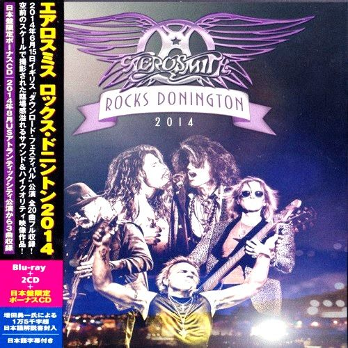 Aerosmith - Rocks Donington 2014 [Japanese Edition] [3CD] (2015)