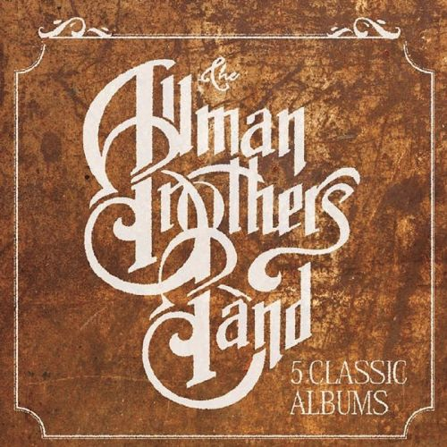 The Allman Brothers Band - 5 Classic Albums (Box Set) (2015)