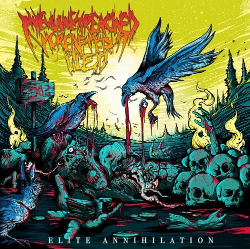 My Evilness Reached More After I Died - Elite Annihilation (ep) (2017)