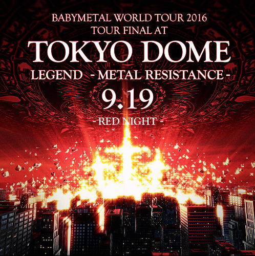 Babymetal - Live at Tokyo Dome: Red & Black Night [4CD Deluxe Edition] (2017)
