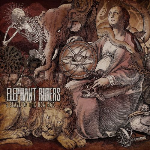 Elephant Riders - I Slave of the New Age [EP] (2017)
