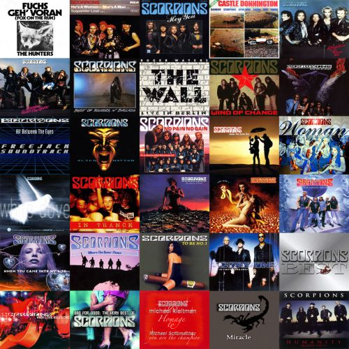 Scorpions – Extra Tracks 1974-2011 (Bootleg)
