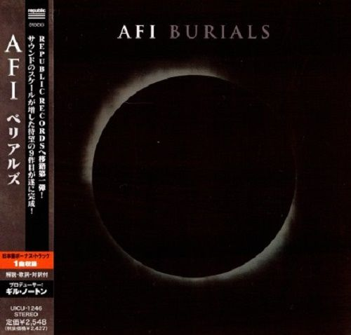 AFI - Burials (Japan Edition) (2013)