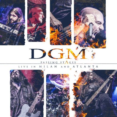 DGM - Passing Stages: Live In Milan And Atlanta (Japanese Edition) (2017)