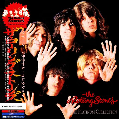 The Rolling Stones - The Platinum Collection (3CD`s) (Japanese Edition) (2017)