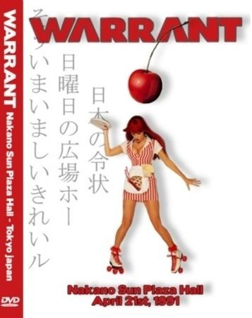 Warrant - Live in Nakano Sun Plaza Hall, Tokyo (1991) (DVD5)