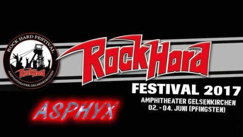 Asphyx - Rock Hard Festival (2017) (HDTV)