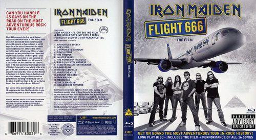 Iron Maiden - Flight 666 (2009) (BDRip)