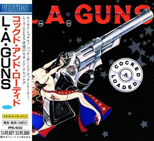 L.A. Guns - Cocked & Loaded (Japan Edition) (1989)