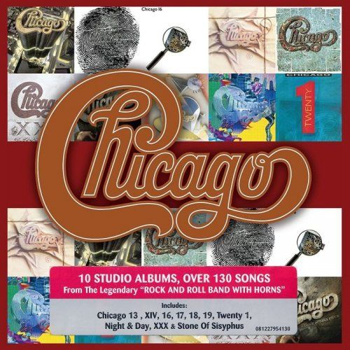 Chicago - The Studio Albums 1979-2008 [10CD Box Set] (2015)