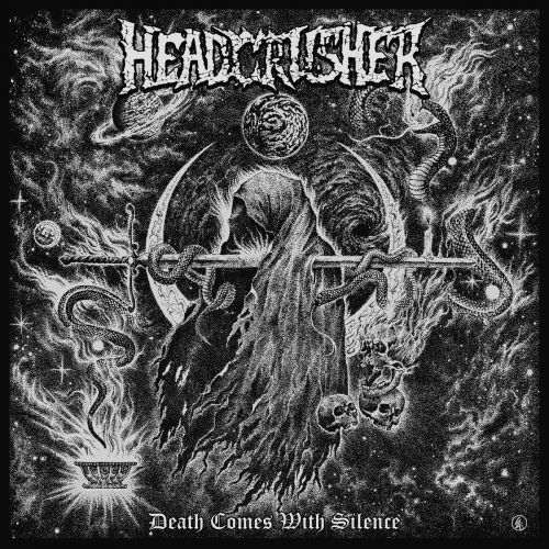Headcrusher - Death Comes With Silence (2017)