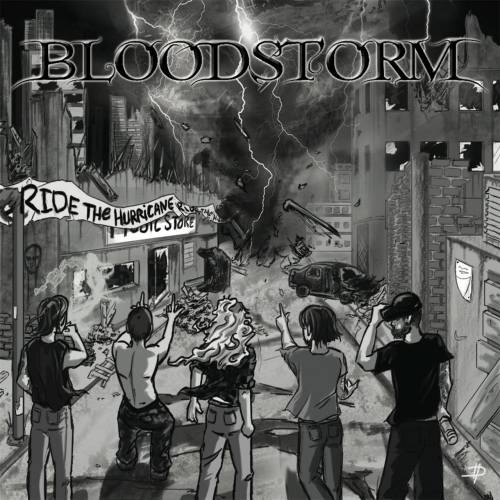 Bloodstorm - Ride the Hurricane (EP) (2017)