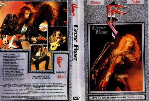 Celtic Frost - Live In Hammersmith Odeon (1989) (DVD5)