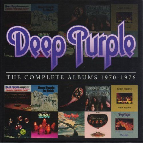 Deep Purple - The Complete Albums 1970-1976 [10-CD Box Set] (2013)
