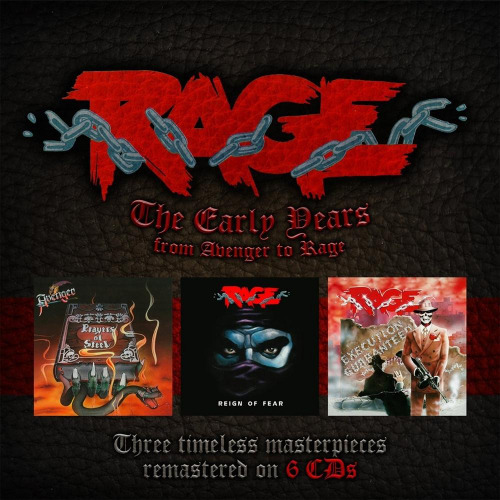 Rage - The Early Years (From Avenger To Rage) (Remastered 6CD) (2017)