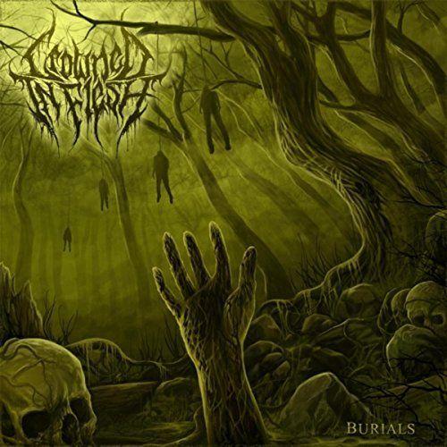 Crowned in Flesh - Burials [EP] (2017)