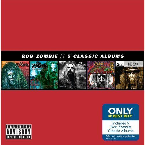 Rob Zombie - 5 Classic Albums (2014)