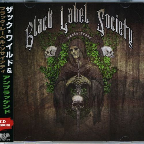 Black Label Society ‎– Unblackened (2013) (Japanese Edition)