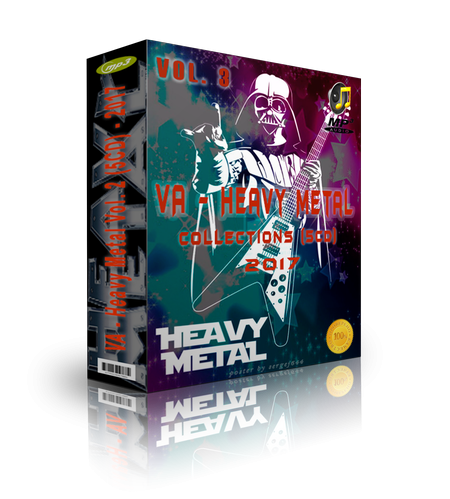 Various Artists - Heavy Metal Collections Vol. 3 (5CD) (2017)