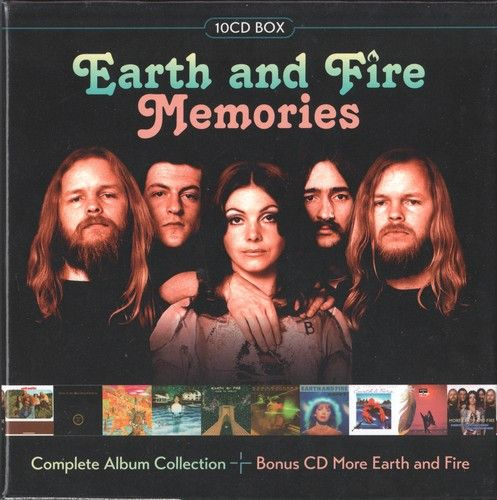 Earth and Fire - Memories (Complete Album Collection, 10CD box) (2017)