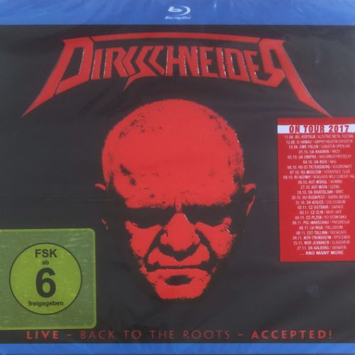Dirkschneider – Live – Back To The Roots – Accepted! (2017) (Blu-ray) /  (BDRip 1080p)