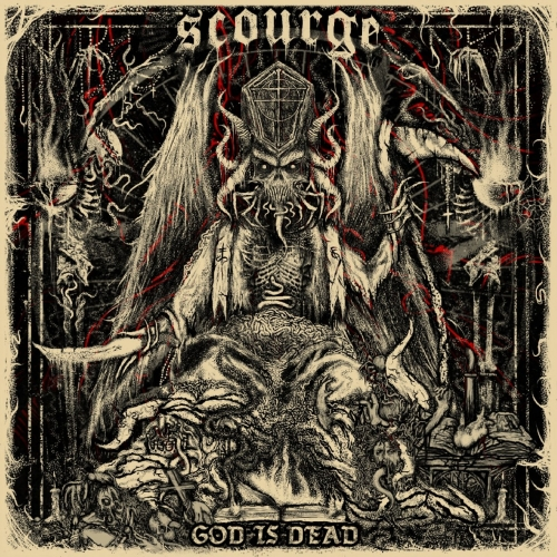 Scourge - God Is Dead (EP) (2017)