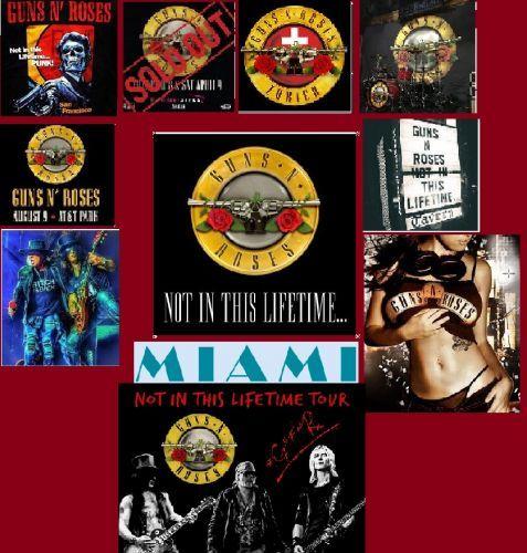 Guns N' Roses – Not a Miami's Lifetime (2017)