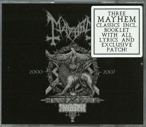 Mayhem - A Season In Blasphemy (3CD BoxSet, Compilation) (2015)