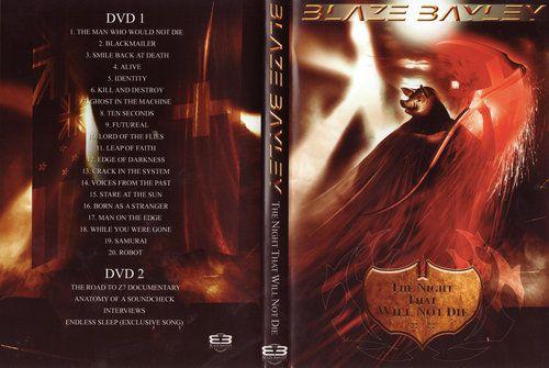 Blaze Bayley - The Night That Will Not Die (2009) (DVD5)